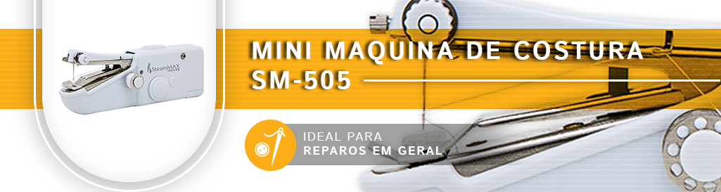 Oferta Exclusiva Mini Maquina de Costura SM-505
