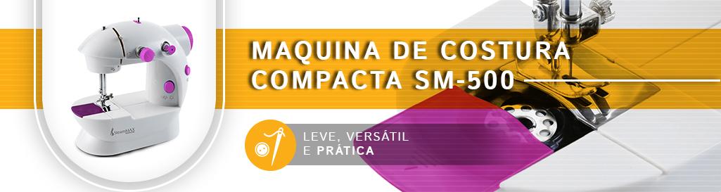 Oferta Exclusiva Maquina de Costura Compacta SM-500