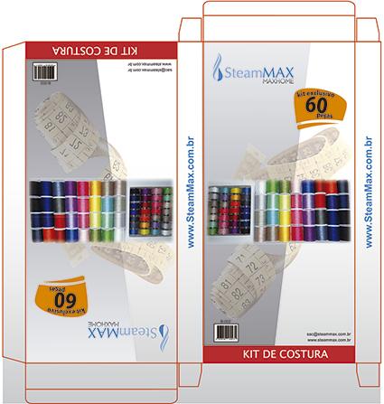 Kit de Costura 60 peças