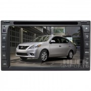 Central Multimidia Nissan Versa Tv Digital Integrada- C�MERA DE R� DE BRINDE