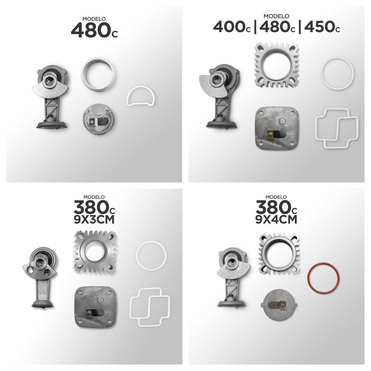 Kit Reparo Compressor 325c, 380c, 400c, 444c, 450c, 480c