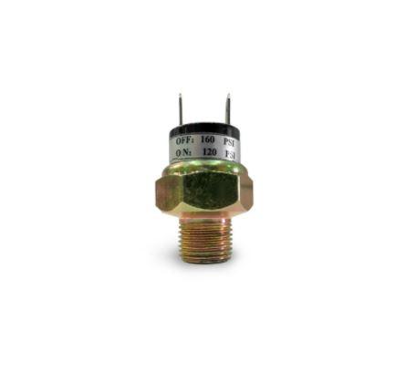 Pressostato Compressor 120psi a 160psi - CONEXÃO 1/4