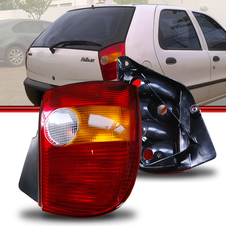Circuito Lanterna Traseira Palio : Lanterna traseira palio a tricolor amd auto peças