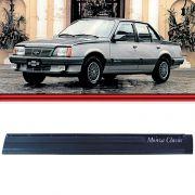 Friso Lateral - Monza Classic 87 até 90 - 4 Portas - Preta
