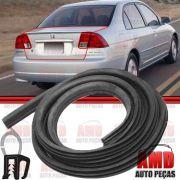 Borracha Porta Malas Honda Civic 92 a 00 Civic 01 a 12 Fit 04 a 14