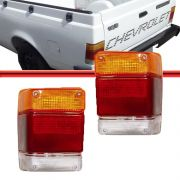 Lente Lanterna Traseira Chevy Marajo 83 A 94 Tricolor