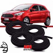 Kit Borracha Porta Ford KA 14 a 16 4 Portas