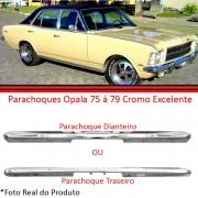 Kit Parachoque Dianteiro e Traseiro Opala Caravan Cromado 75 a 79