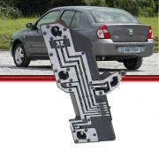 Soquete Circuito Lanterna Traseira Clio Sedan 03 a 10