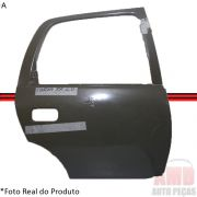 Folha Porta Corsa 95 á 11 Sedan Hatch Traseira Direita