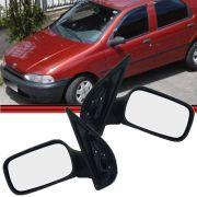 Espelho Retrovisor Sem Controle Palio / Siena / Weekend - 96 até 00 - 4 Portas