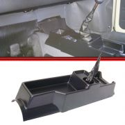Console Fusca Fuscão Fafá Itamar 71 a 96 Coifa de Napa Plástico Preto