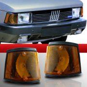 Lanterna Dianteira Fiat 147 Spazio Oggi Panorama 83 a 86 Amarela