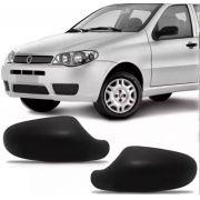 Capa Espelho Retrovisor Palio Siena Strada Weekend G3 04 a 10 Preto Texturizado Modelo Metagal