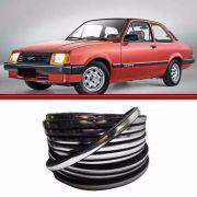 Friso Prata Parabrisa ou Vigia Monza 82 a 90 Monza 91 a 96 Chevette 73 a 93 Marajó 78 a 93 Chevy 83 a 93