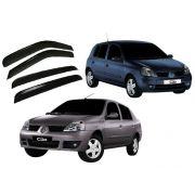 Jogo Calha de Chuva defletor Clio Sedan/Hatch 00 a 14 4 Portas