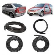 Kit Borracha Porta + Capo + Mala Astra Hatch Sedan 99 11 2p