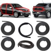 KIT BORRACHA PORTA + CAPÔ + MALA ASTRA HATCH SEDAN 99 A 11 2/4 PORTAS