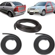 KIT PAR BORRACHA PORTA + MALA ASTRA HATCH SEDAN 99 A 11 2/4 PORTAS COM ABA TIPO BAIXA