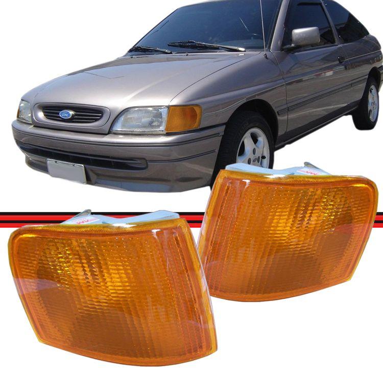 Lanterna Dianteira Pisca Escort Sapão 93 94 95 96 Amarelo  - Amd Auto Peças