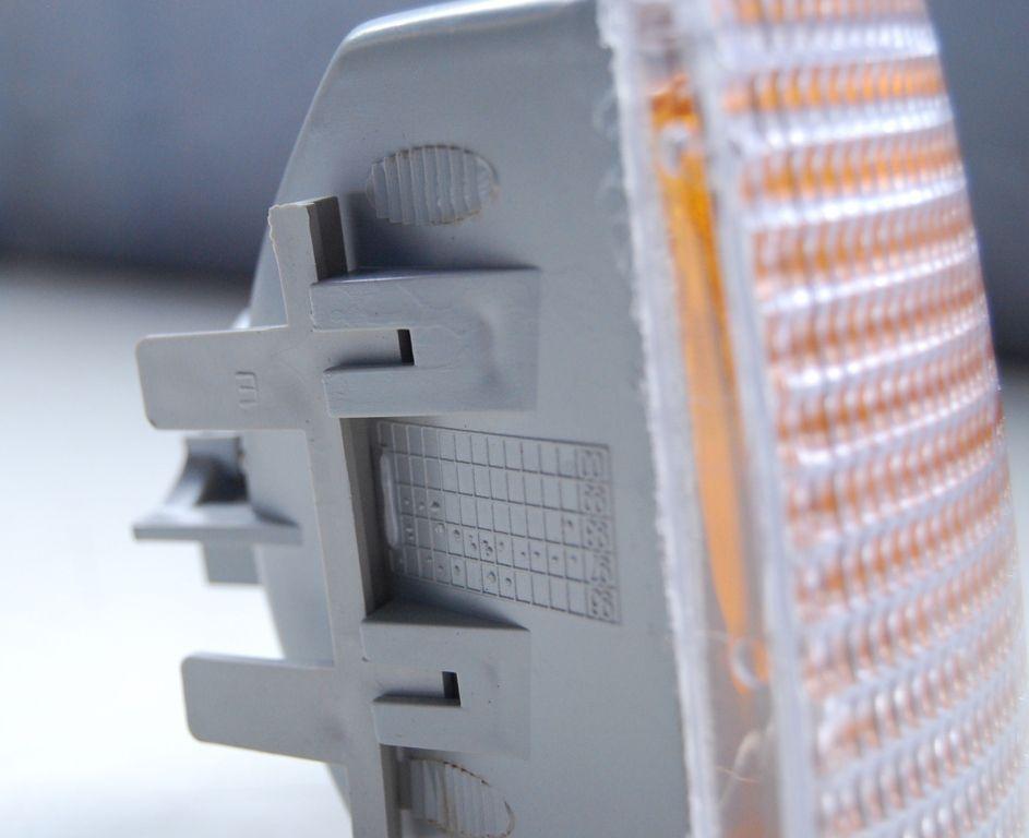 Lanterna Dianteira Gol Parati Saveiro 91 á 95 Cristal Olho de Gato Laranja