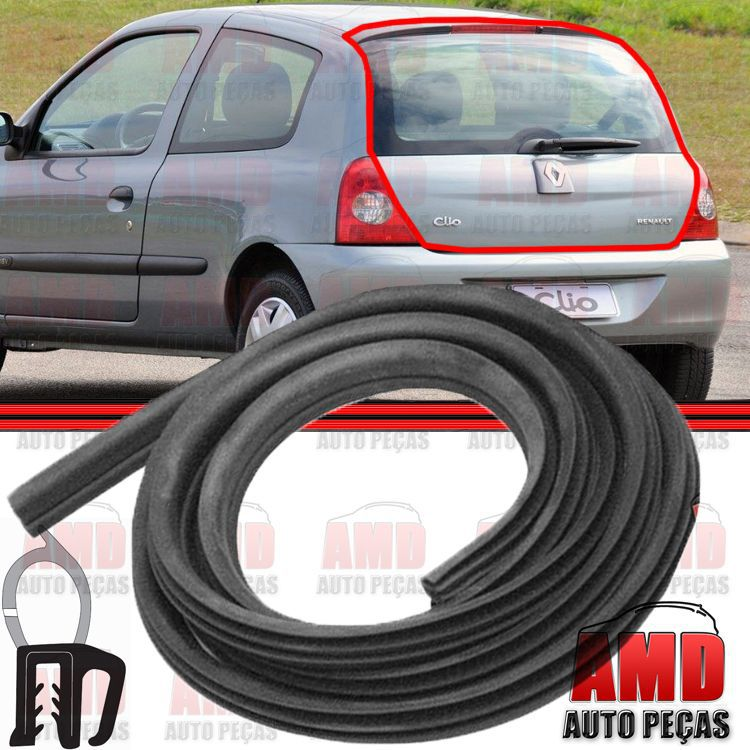 Borracha Porta Malas Renault 19 Clio Hatch Sedan