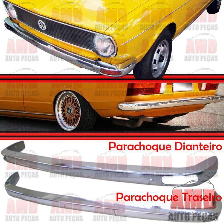 Par Parachoque Dianteiro / Traseiro - Passat 75 até 79