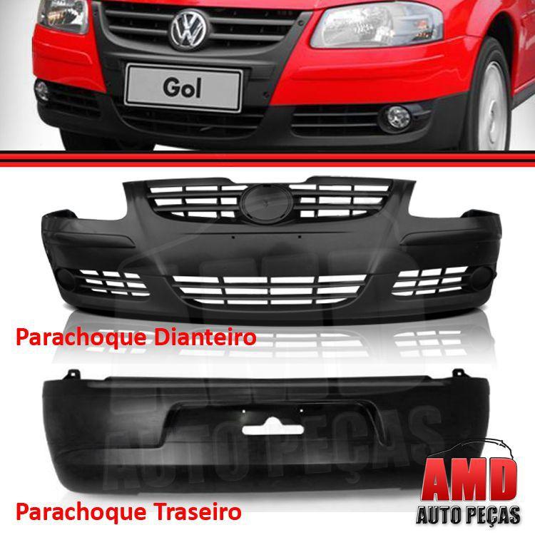 Par Parachoque Dianteiro / Traseiro - Gol GVI 05 até 10 - Primer