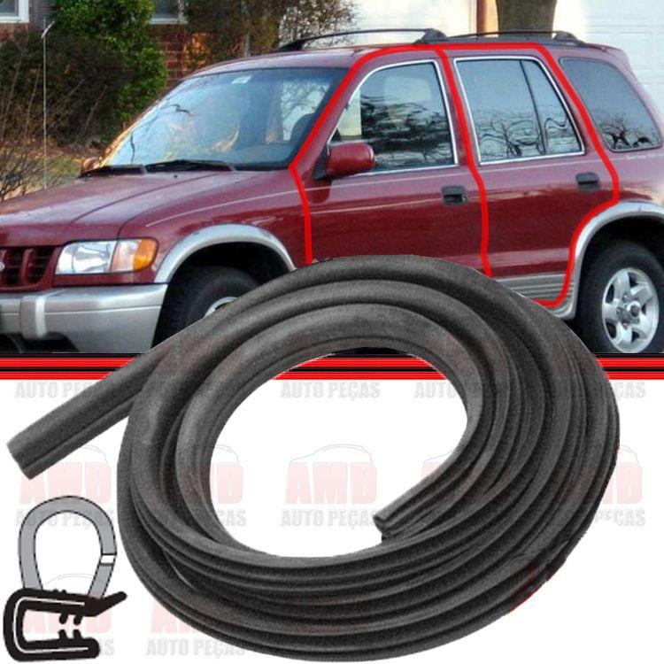 Borracha Porta Jeep Sportage Dianteira ou Traseira 95 a 02