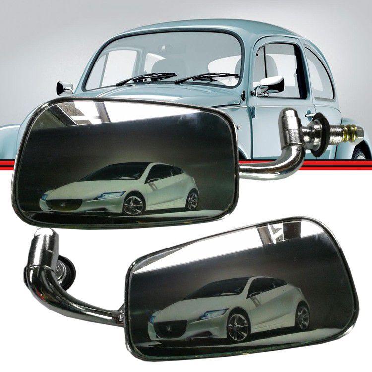 Retrovisor Espelho Fusca 59 a 96 Cromado Multi Uso