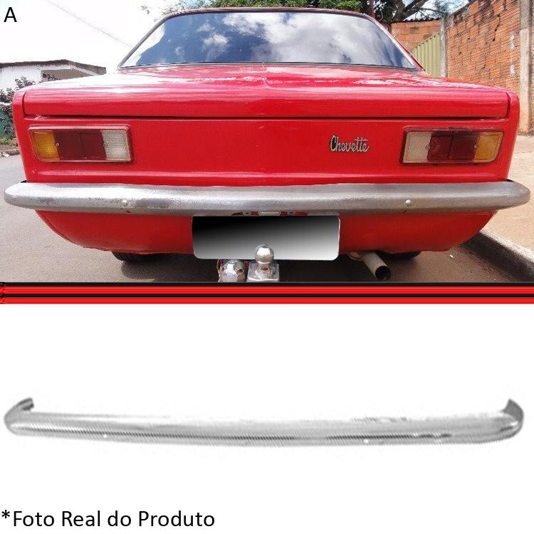 Parachoque Lamina Dianteiro ou Traseiro Chevette 74 a 79 Cromado  - Amd Auto Peças