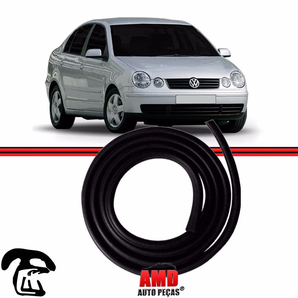 Borracha Porta Polo Hatch Sedan 02 a 14 4 Portas (Fixa na Carroceria)
