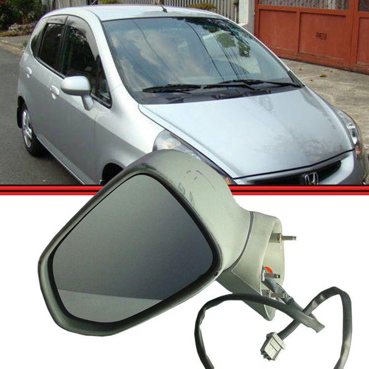 Espelho Retrovisor Controle Elétrico Honda Fit 03 a 08