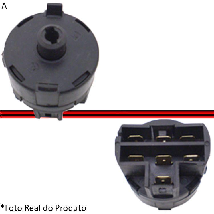Comutador Elétrico Ignição Partida Uno Prêmio Elba Fiorino 84 a 02