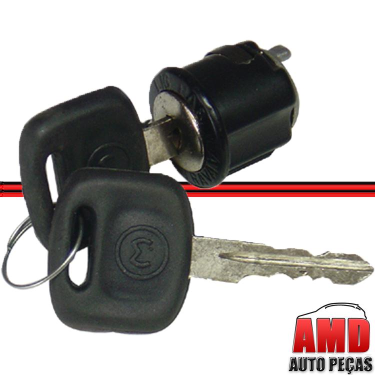 Cilindro da Chave de Contato Kombi Clipper 77 a 80  - Amd Auto Peças