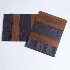 Bandeja de madeira para Sofá Porta Copos e Controles Imbuia
