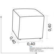 Puff Quadrado B271