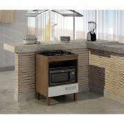 Balcão para cooktop 4 bocas e forno Decari 31101