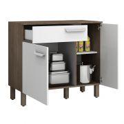 Balcão de cozinha com gaveta e 2 portas Decari 31221