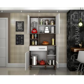 Kit cozinha 4 portas e gaveta Decari 31231