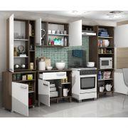Cozinha completa com balcão móvel Decari 05