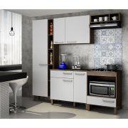 Cozinha compacta com balcão cooktop Decari 09