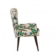 Poltrona Cadeira Decorativa Bilbao