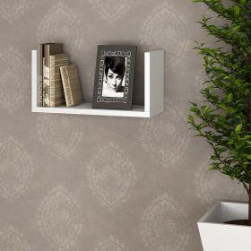 Prateleira Decorativa 60 x 30 cm Lineare 38603 Branco