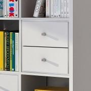 Acessório com 02 gavetas 38002 para estante Lineare - Branco