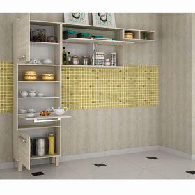 Cozinha Maia 03 peças -Jacarta com Preto