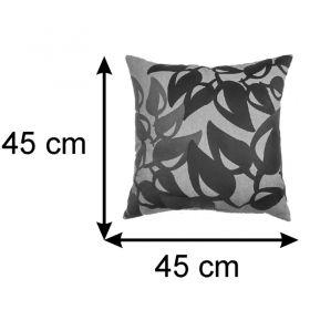 Almofada Decorativa Folhagem 45x45 Cm