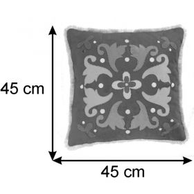 Almofada Decorativa Folk 45x45 Cm