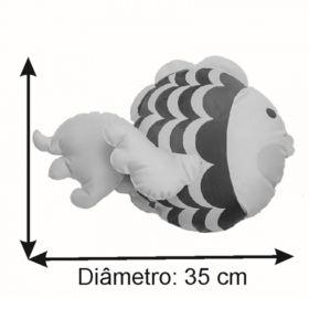 Almofada Infantil Temática 35 Cm Baby Peixinho