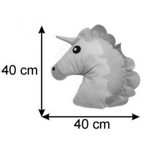 Almofada Infantil Temática 40 Cm Baby Unicórnio